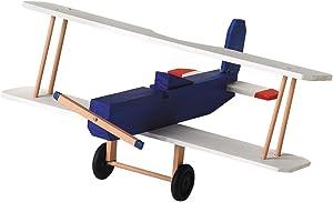 Darice 9169-08 Wood BI Plane Model Kit