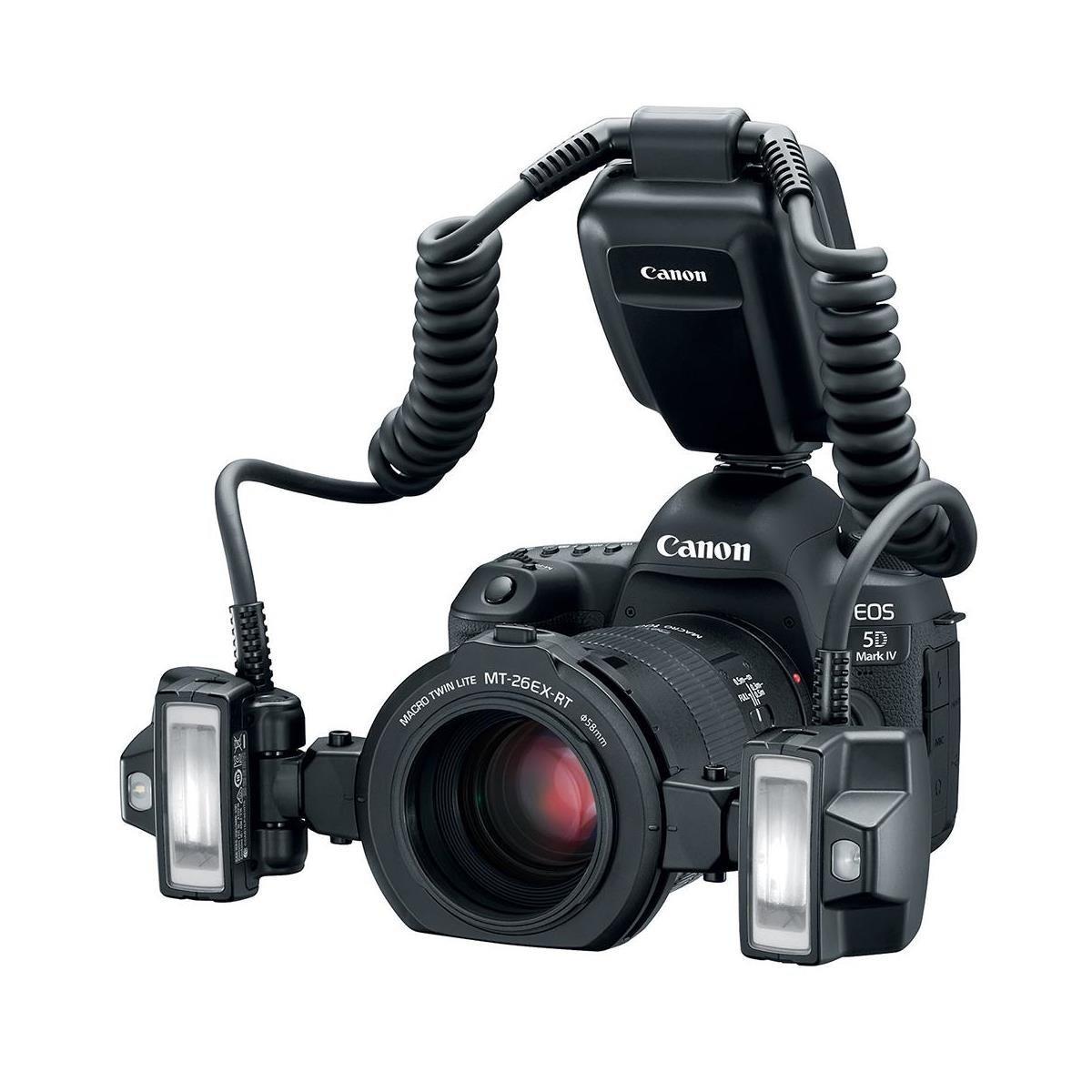 Canon MT-26EX-RT Macro Twin Lite Flash Unit USA Warranty With Accessory Bundle. by Canon (Image #2)