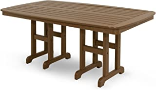 product image for Trex Outdoor Furniture TXNCT3772TH Yacht Club Dining Table, 37 by 72-Inch, Tree House