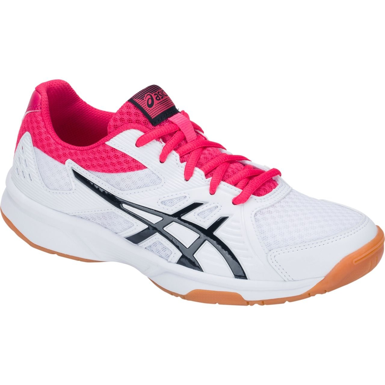 ASICS Upcourt 3 Shoe Women's Volleyball B077NGYX4X 6 B(M) US|White/Pixel Pink