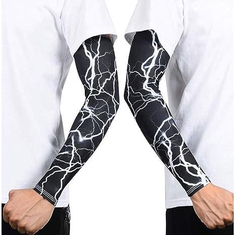 V Brazo, Calentadores de brazo Protección UV para hombres Mujeres ...