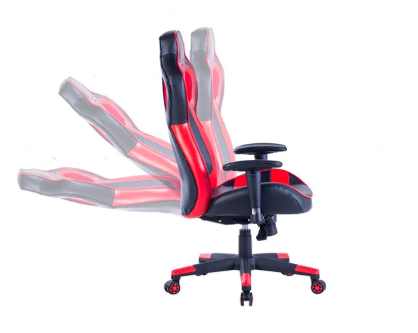 Polironeshop - Jerez, silla para Gaming Racing, posición direccional, mobiliario para el escritorio del ordenador, para la casa, la oficina o el estudio ...