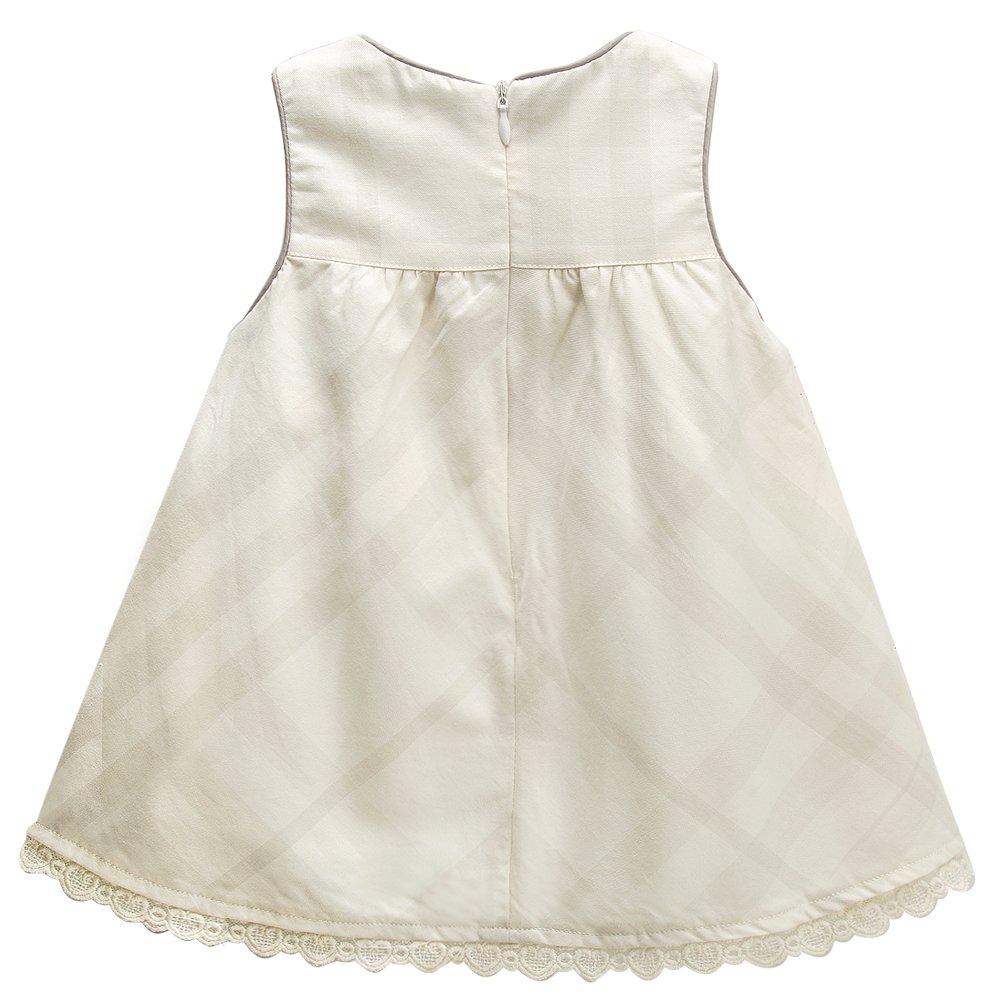 d5a361e9d114 Amazon.com  mubenshang Baby Girl Dresses Summer Toddler Dress Casual A Line  Dress Sleeveless Princess Dress  Clothing