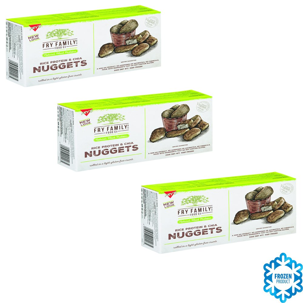 Frys Family NUGGETS (CHIA NUGGETS) Proteína de Arroz Sin ...