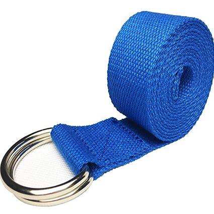 Amazon.com : RXRENXIA Yoga Strap, D-Ring Buckle Yoga Strap ...