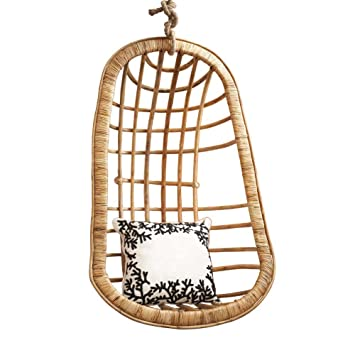 Perfect Twou0027s Company Hanging Rattan Chair