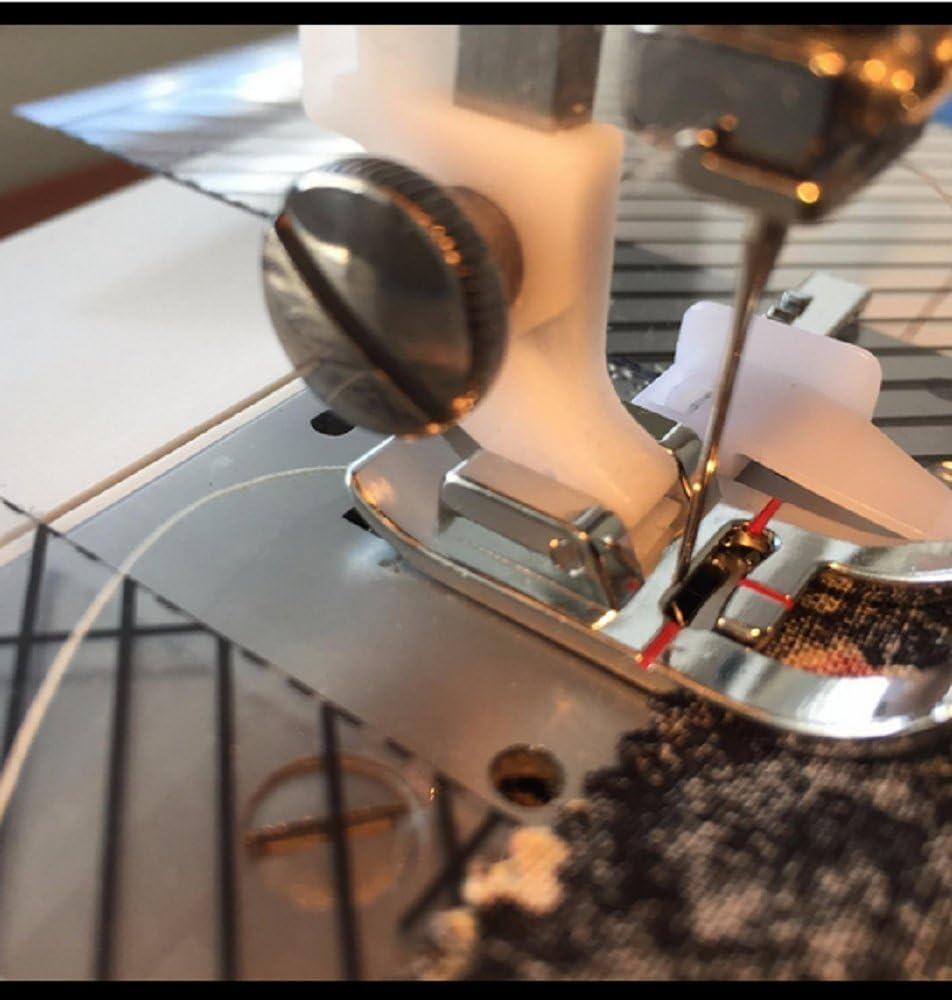 Calidad Superior vástago bajo Snap en zig zag prensatelas para todas las máquinas de coser