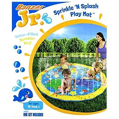 BANZAI 14663 Sprinkle 'n' Splash Play Mat, Multi-Colour: Toys & Games