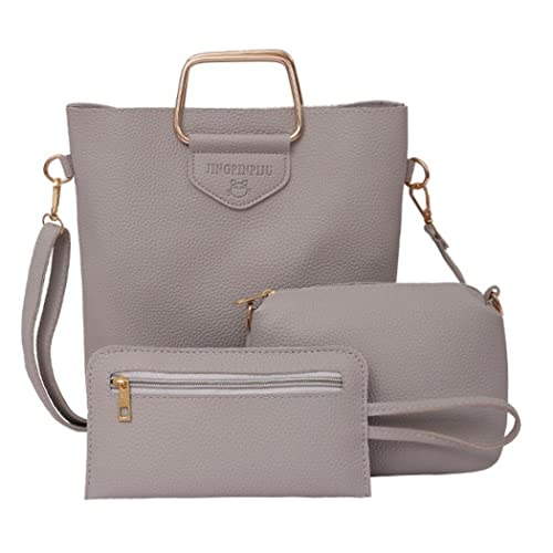 Amazon.com  Clearance Sale! Women Three Sets Fashion Handbag Shoulder Bags  Three Pieces Tote Bag Crossbody ❤ ZYEE  Shoes 10363af22d37e