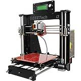 Geeetech® Prusa I3 Pro B stampante 3D in acrilicocon kit non montato, Kit fai da te di alta qualità eccellente di CNC