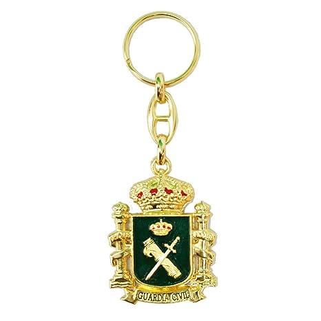 Llavero Emblema Guardia Civil y Escudo de España
