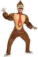 Disguise Men's Super Mario Donkey Kong Deluxe Costume