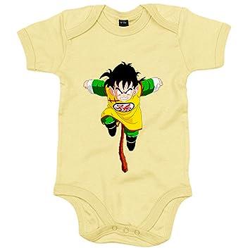 6-12 meses Body beb/é pap/á tu puedes hacerlo azul Amarillo