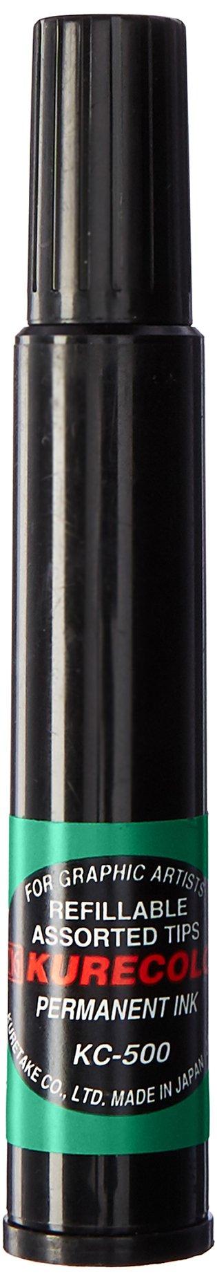 Zig Kurecolor Single Tip Marker, Green