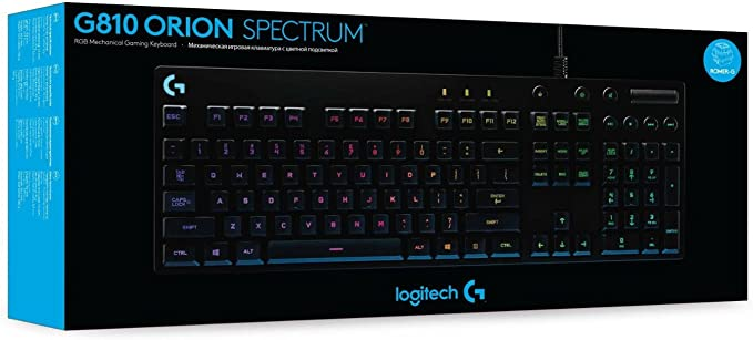 G810 Orion Spectrum RGB Mechanical Gaming Keyboard - N/A ...