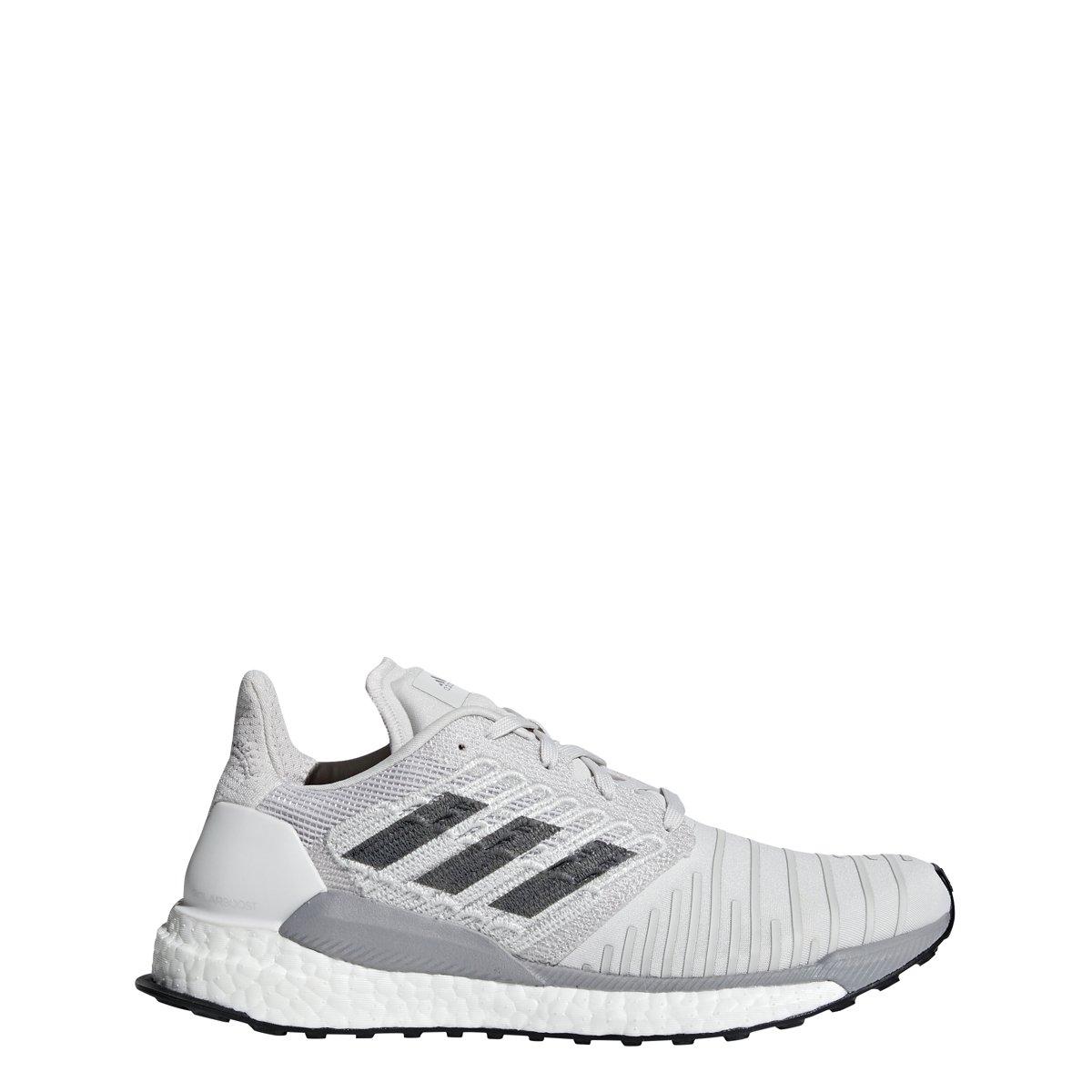 adidas Women's Solar Boost Running Shoe B077XMS9M5 11 B(M) US|Grey/Grey/Grey