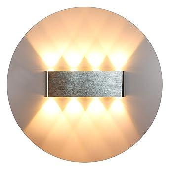 Chambre Down Led CoucherCouloirSalonEscaliersKtv16w Kawell Pour D'aluminium Applique Up À Lampe Moderne Intérieur Murale Alliage OX0nkN8wP