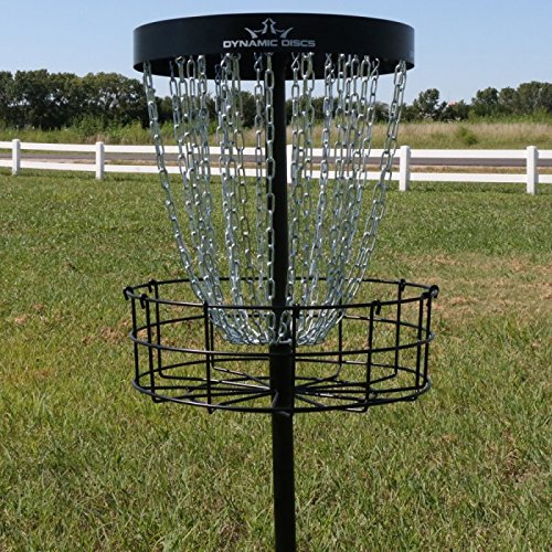 Dynamic Discs Recruit 26 Chain Portable Disc Golf Basket Target by Dynamic Discs