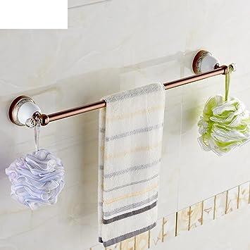 Premium Blau Und Weiss Porzellan Handtuch Bar Rose Gold