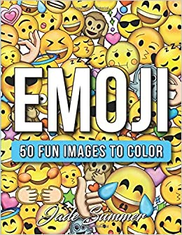 Emoji An Emoji Coloring Book For Kids With 50 Funny Cute And Easy Coloring Pages Amazon De Summer Jade Fremdsprachige Bucher
