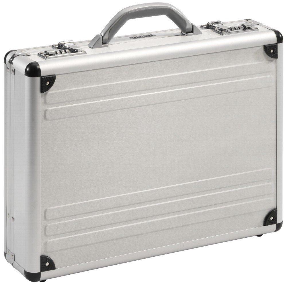 Aktenkoffer Attaché Koffer Alu Aluminium Silber Mit Zahlenschloss 49003