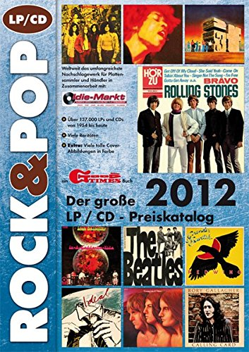Der große ROCK & POP LP / CD Preiskatalog 2012: Amazon.es ...