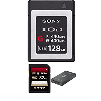 Amazon.com: Sony qdg128e/J 128 GB lector de tarjeta de ...