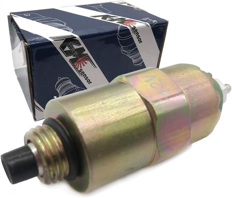 kmsensor 12V Diesel Shut Off Solenoid Valve 7167-620B,9108-073A,9943882,9009-049A,9145-040D,9009-026B,9009-034,9009-041,9009-049,168085,6161822,9943882