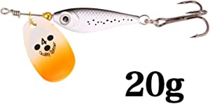 Miracle day Peche Spinner Baits Fishing Lures Metal Wobblers CrankBaits Jig Shads for Fly Fishing Shone Sequin Trout Spoon Baits Pesca