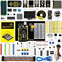 keyestudio Electronic Learning Toy for Arduino MEGA 2560 R3 Project Maker Starter Kit with tutorial Includes 35 Interesting Lessons Children Learning Development Science Kits For Stem Education