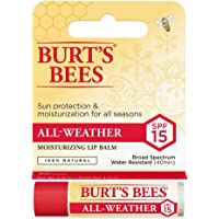 100% Natural All-Weather Moisturising Lip Balm SPF15 (Pack of 12)