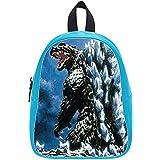 Emana Custom Godzilla middle school Student Shoulder backpack School Bag travel backpack