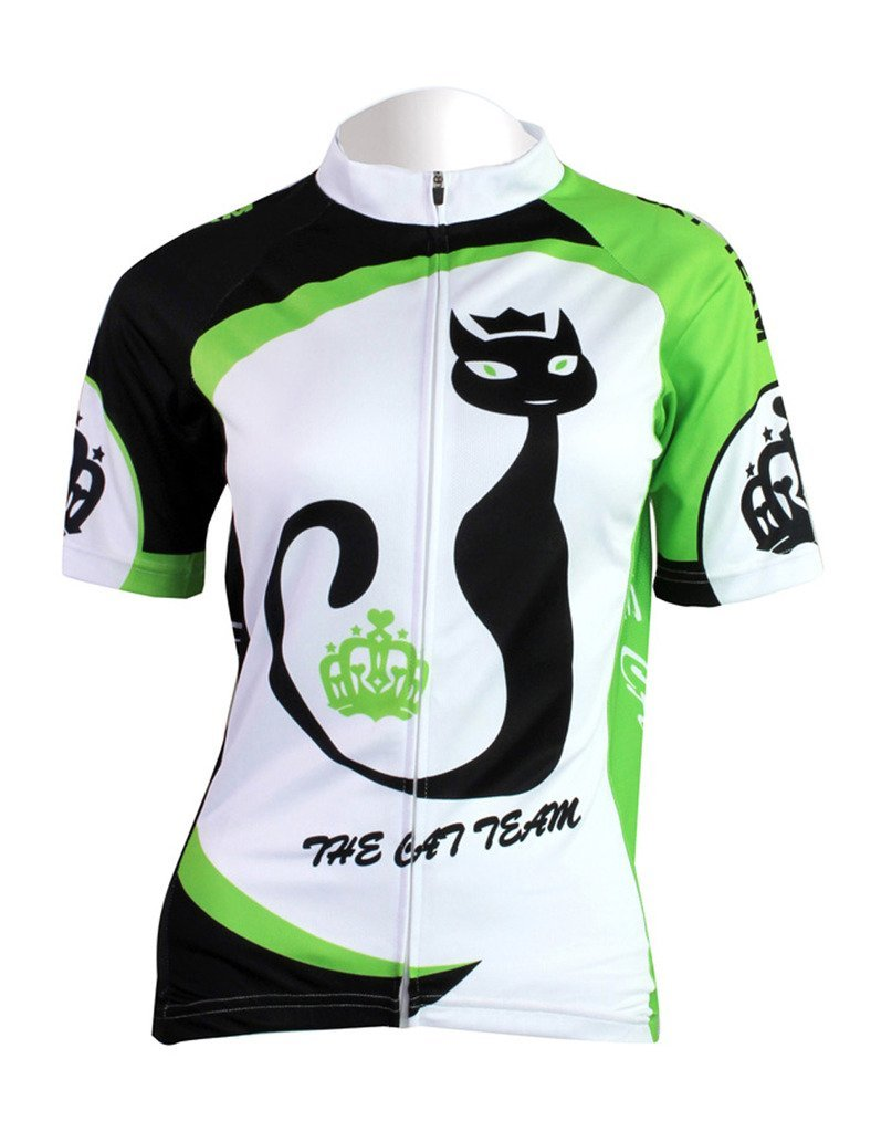 AL-1045 LAOYOU Women's Cycling Jersey Mountain Bike Sports Short Sleeve Jersey Bicycle Cycle Shirt Wear Comfortable Breathable Shirts Tops
