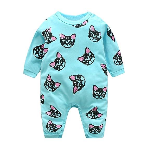 Domybest Pijama Monos de vestir para Recién nacido Bebé Niñas Niños ...