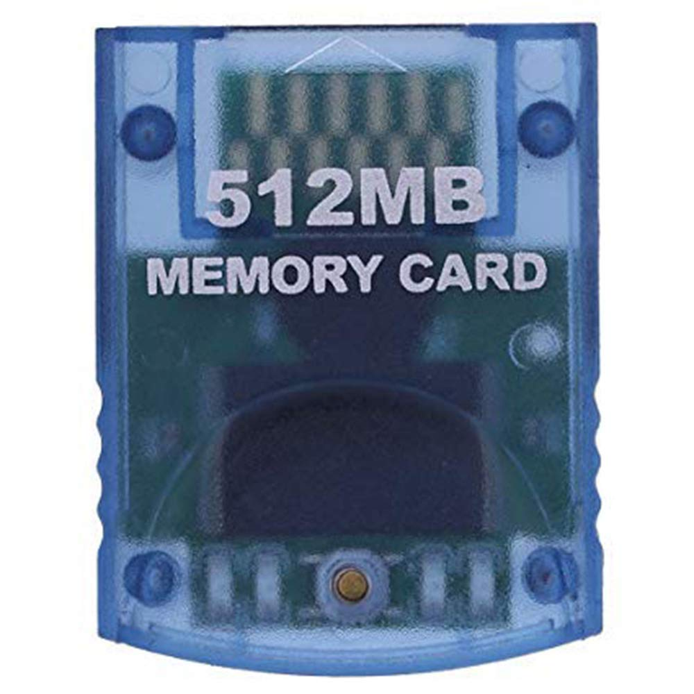 Poulep 512MB Gaming Memory Card Compatible for Nintendo Wii and Gamecube by Poulep