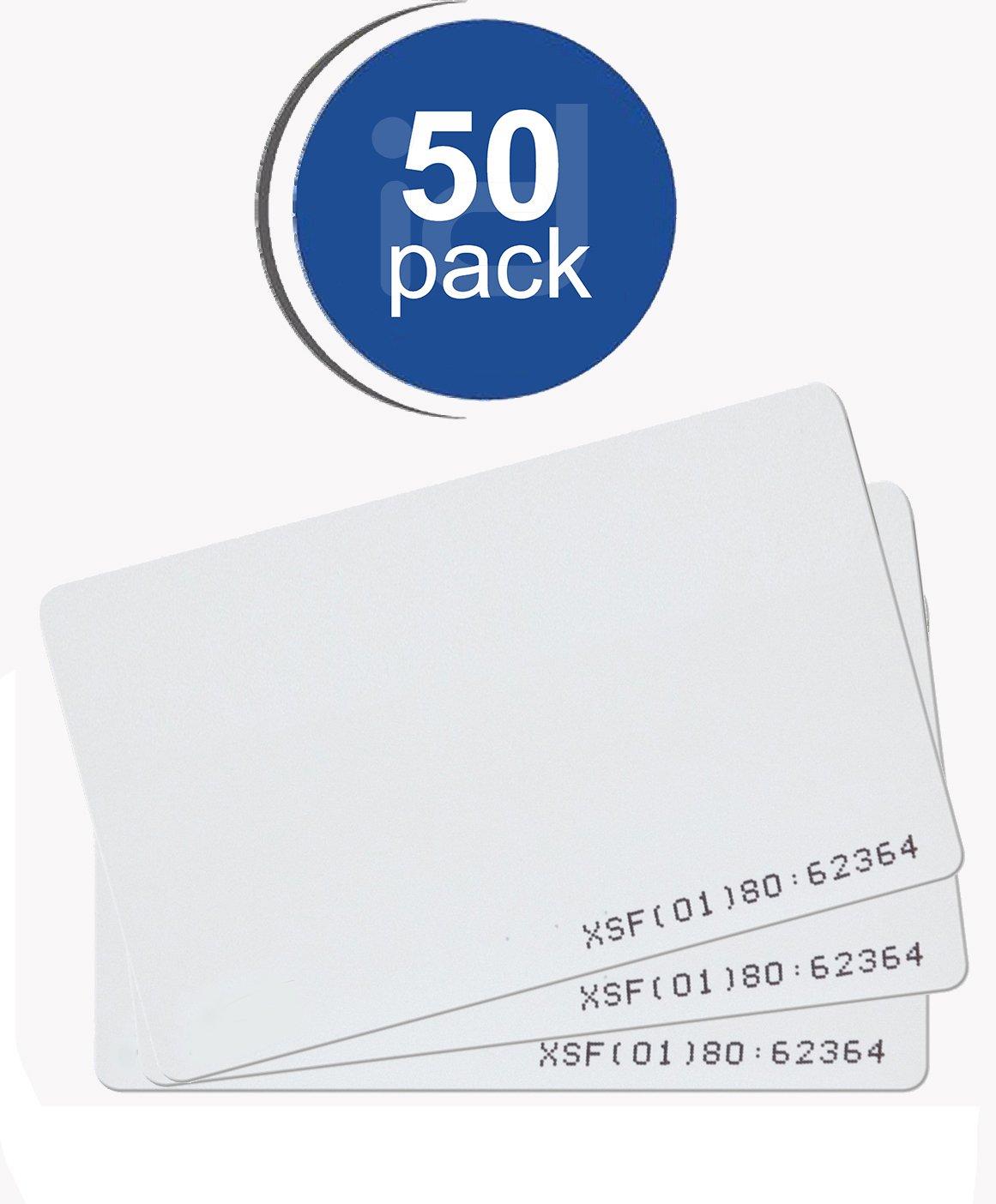 Kantech ioProx P20DYE Imageable Proximity Card (50PK, RapidPROX)
