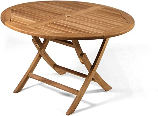 Folding Wooden Garden Table Ref A