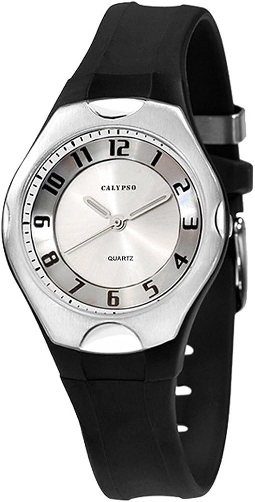 Calypso K5162/1 - Reloj Unisex, Correa de plástico Color Negro