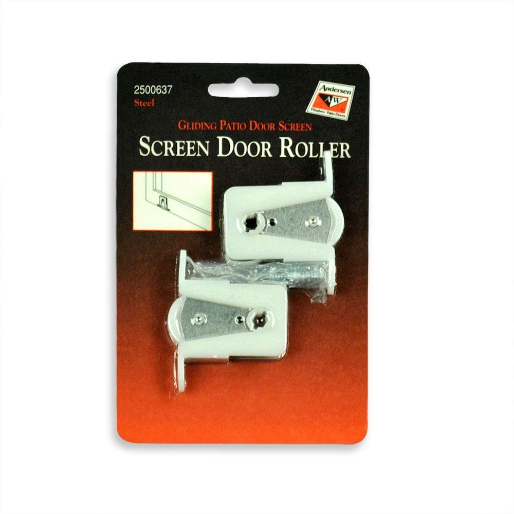 Amazon.com: Andersen Screen Door Rollers   Gliding Patio Door Screen 1 Pair  By Andersen Windows: Home Improvement