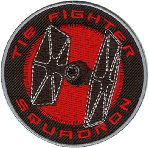 Licensed Tie - Star Wars Tie Fighter Embroidered Patch Can Be Ironed Or Sewn On Officially Licensed