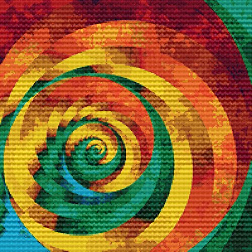 Abstract Spiral - 9