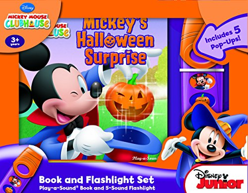 Mickey Mouse Clubhouse: Mickey's Halloween Surprise: Book and Flashlight Set