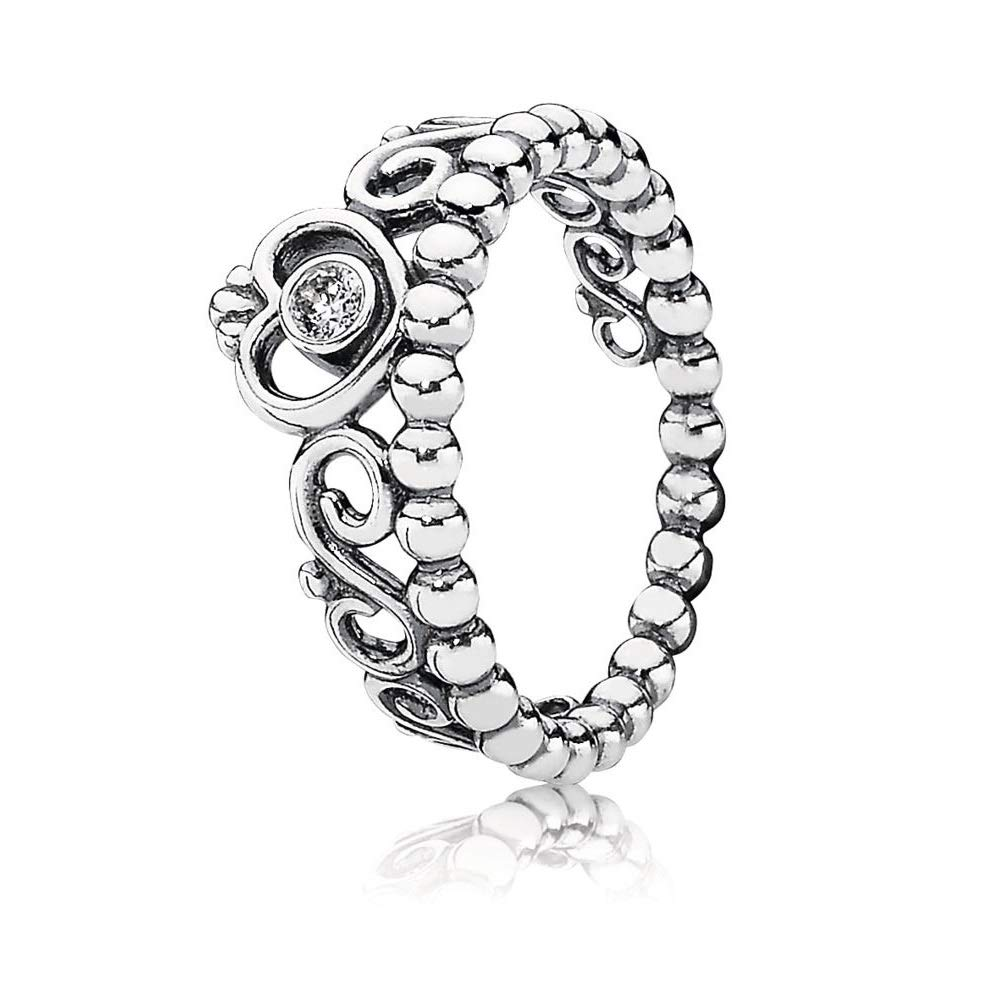 0401aa775 Amazon.com: Pandora 190880cz My Princess Ring Size 7.5: Jewelry