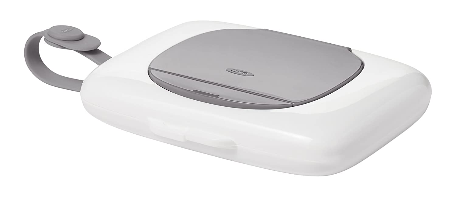 OXO Tot On-The-Go Dispenser for Small Wipes, Gray 62100300