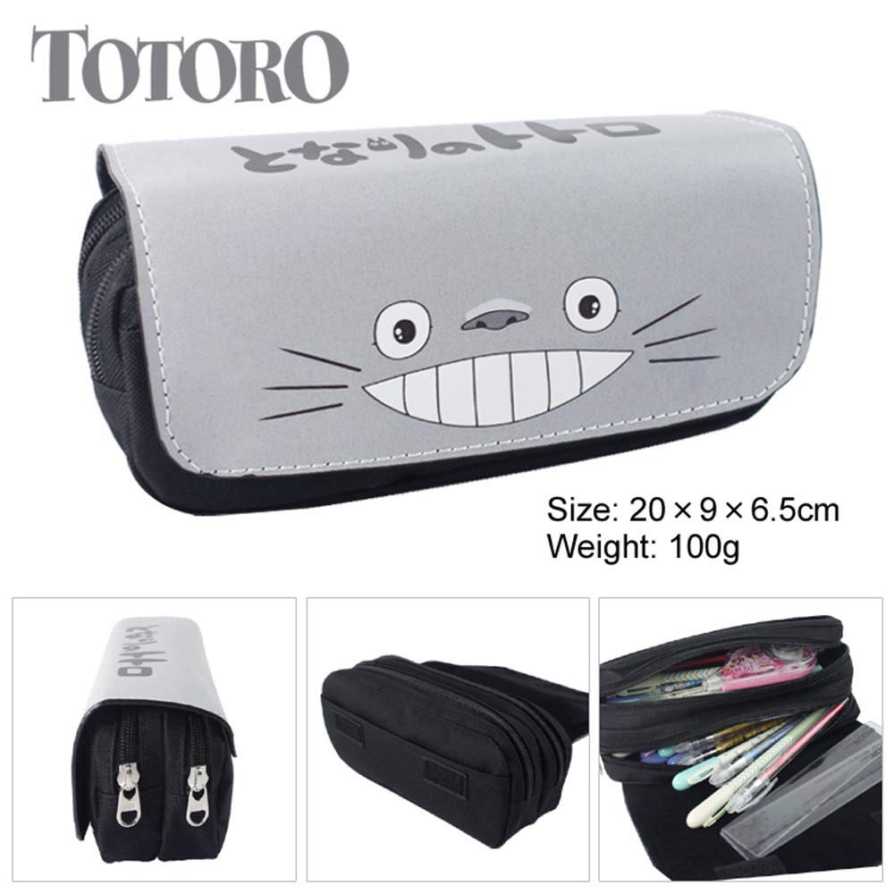 Totoro - Estuche para lápices con cremallera, multifunción ...