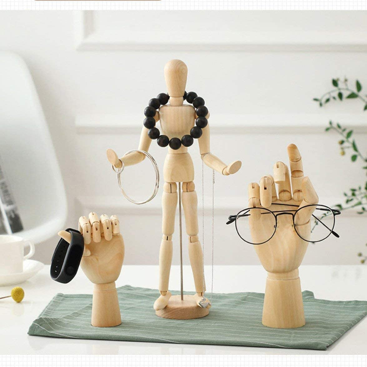 Sylvialuca Skizze Schaufensterpuppe Hand aus Holz menschliche Kunst Zeichnung Flexible Gelenke Schaufensterpuppe Puppen Figuren Puppenmodell