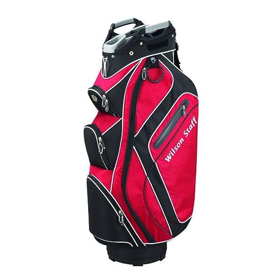 Wilson Staff 2015 Carro Plus Bolsa de Golf, Color Rojo, tamaño 0 ...