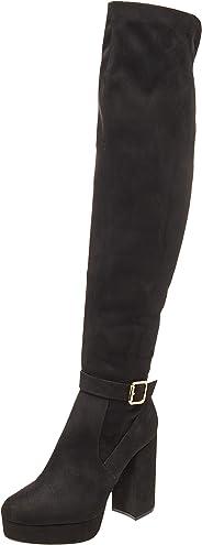 G By Guess GGDENIOT Black Botas para Mujer, Black, 24.5