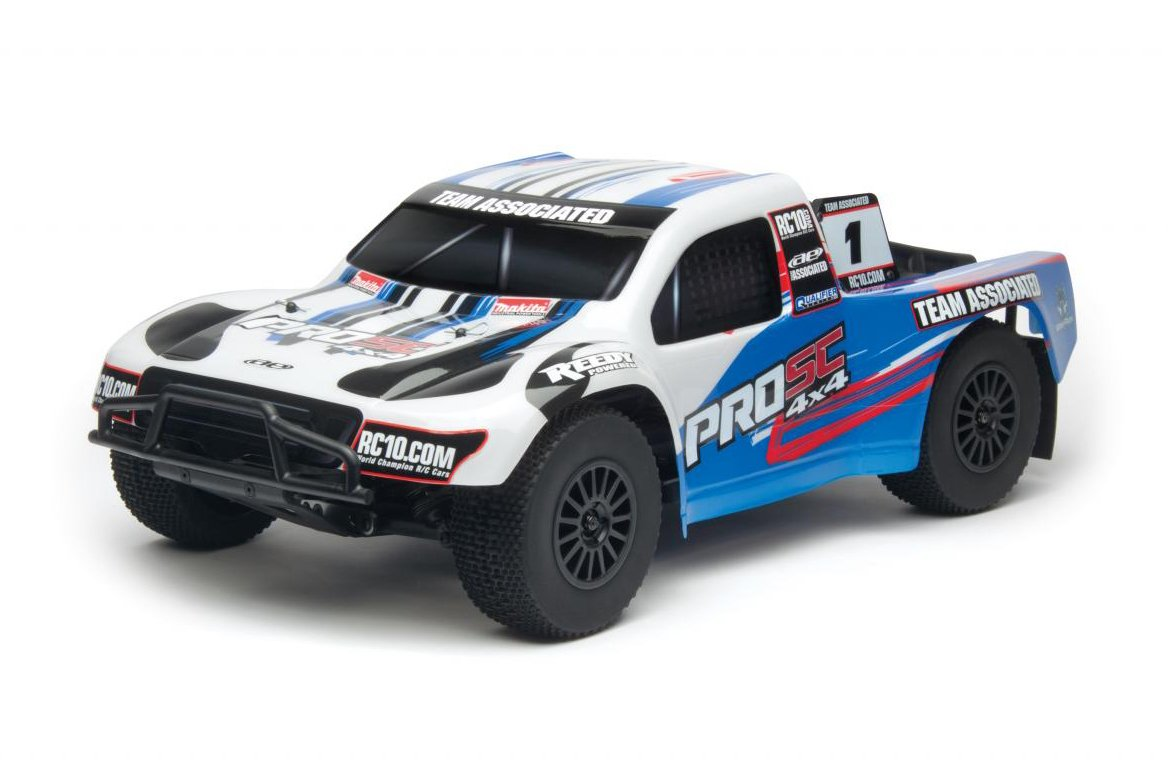 4. Team Associated 7063 ProSC 4x4 Brushless Ready-To-Run
