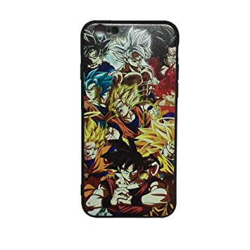Dragon Ball Super DBZ Goku Protector Cases Cover For iPhone 7 Plus iPhone 8 Plus